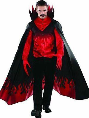 Diablo Adult Standard 4 piece Costume Halloween Men Adult Plus New USA