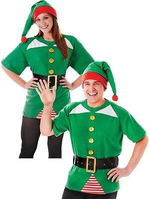 New Jolly Elf Kit Men's Ladies Christmas Fancy - Jolly Santa Kostüme