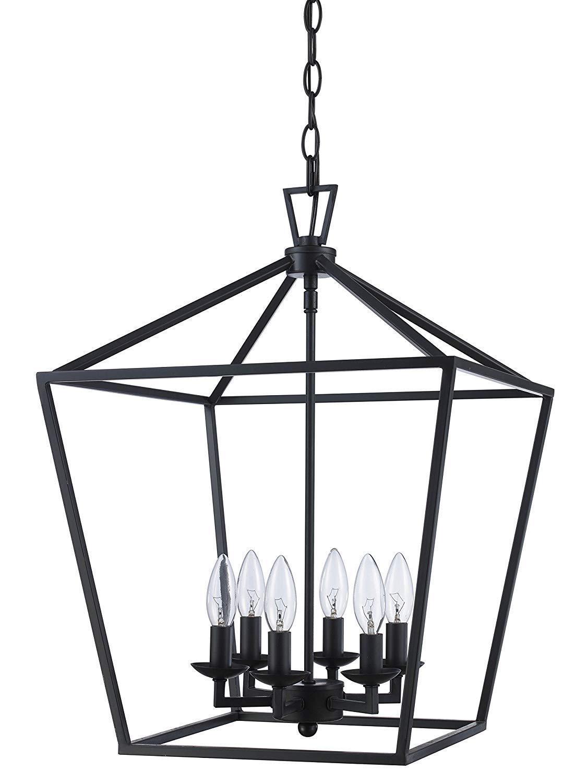 "Trans Globe Lighting 10266 ROB Lacey Colonial Pendant, 16"" R"