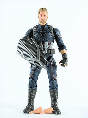 Marvel Legends Avengers Infinity War Captain America Loose  No Thanos Piece