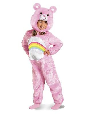 Care Bears - Cheer Bear- Deluxe Infant/Toddler Costume - Toddler Care Bear Costume
