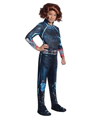 Marvel Little Girls Black Widow Avengers Halloween Costume Dress Up Outfit](Little Girls Halloween Outfits)