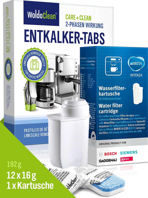 Pflegeset für Siemens EQ.series Entkalkungstabletten Britta Wasserfilter TZ70003