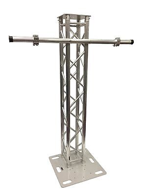6.56FT 2 Meter Aluminum Plasma TV Mount Stand Stage/Club DJ Lighting Truss Tower