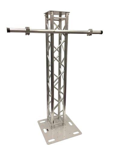 6.56FT 2 Meter Aluminum Plasma TV Mount Stand Stage/Club DJ Lighting Truss Tower