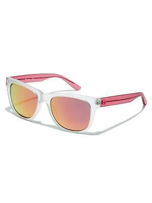 GUESS GG1127 Mujer Gafas de Sol 26U Mate Cristal/Rosa Lente Espejo