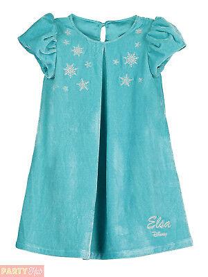 Baby Toddler Disney Elsa Shift Dress Girl's Deluxe Frozen Travis Design Costume
