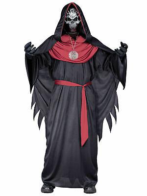 Boys Emperor of Evil Costume Child Halloween Ninja Fancy Dress Kid Horror Outfit
