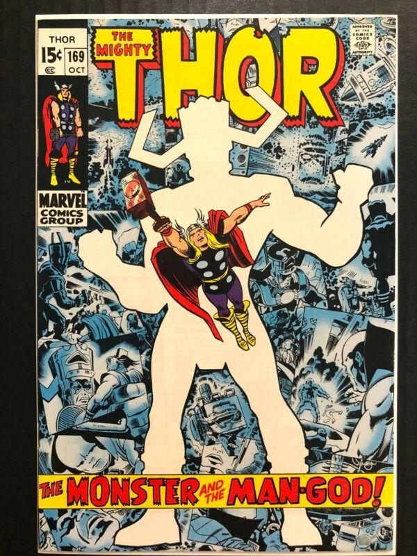 - Thor 169 Galactus Origin VF+ 10/