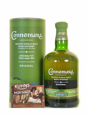 Connemara Original Peated Single Malt Irish Whiskey 0,7l, alc. 40 Vol.-%