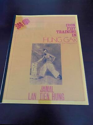 Very Rare & Hard to Find Book! Iron Fist Training in Hung Gar Volume 2
