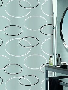 Spirella-ANELLO-gris-Cortina-de-ducha-tela-180-x-200-cm-Producto-Marca