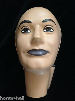Prop Building Supplies-MANNEQUIN HEAD FORM FACE COVER-Halloween costume Mask-MAN - Halloween Mannequin Head