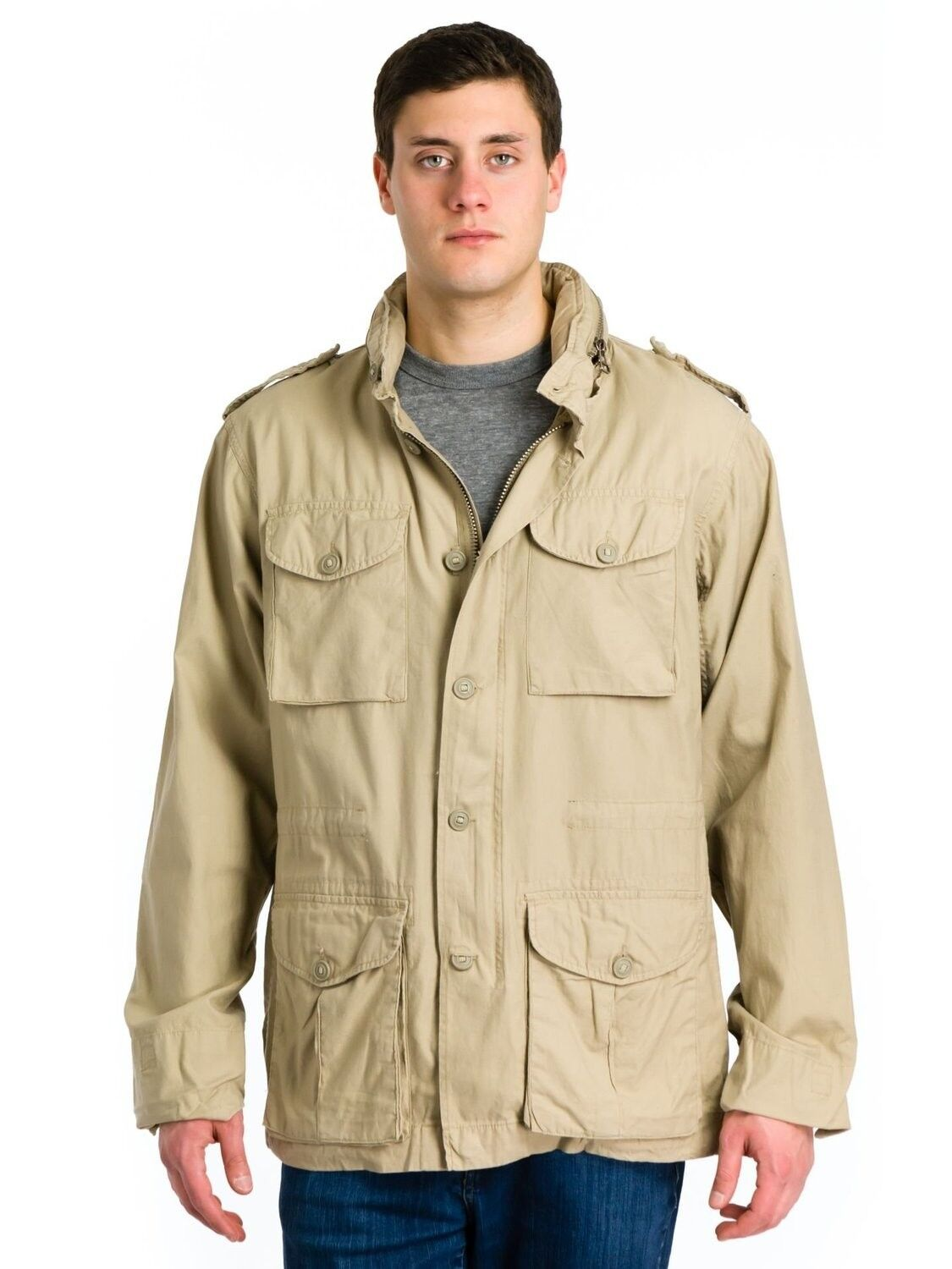 Khaki jacket is a perfect staple that can make you warm and also very stylish. You have maybe noticed that It-girls wear their khaki jackets with almost everything.