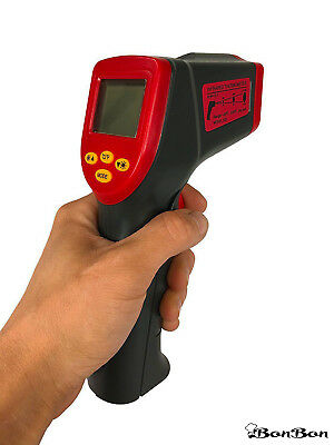 Bonbon Temperature Gun Non-contact Infrared Ir Thermometer Range With Laser Red