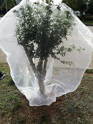 """Agfabric72""""x 72"""" Plant Cover In-shape Bag w/ Rope Insect Barrier Insect Netting"""