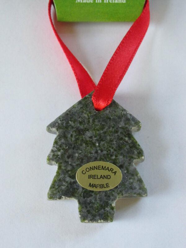 GENUINE Connemara Marble Christmas Tree Decoration Guaranteed Irish