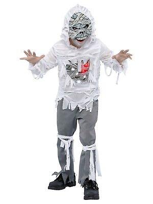 Boys Light Up Mummy Undead Halloween Costume