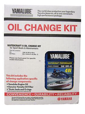 Yamaha Boat/PWC WaveRunner OEM Watercraft II Oil Change,Filter Service Kit