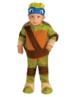 Teenage Mutant Ninja Turtles Toddler Boys Leonardo Costume with 3D Shell 3T-4T