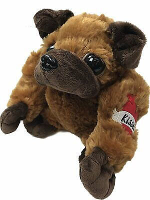 Animals With Tattoos (Valentines Day Macho Puppy Dog Stuffed Animal With Kisses Tattoo, 8