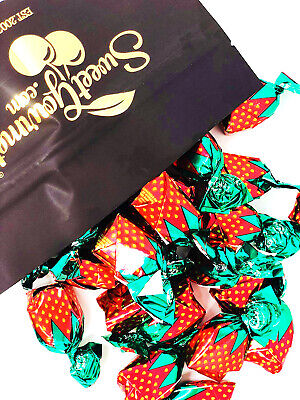 SweetGourmet Arcor Strawberry Filled Bon Bon Hard Candy, 2Lb- FREE SHIPPING! - Arcor Candy