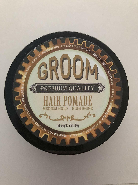Groom Premium Quality Hair Pomade with Medium Hold & High Sh
