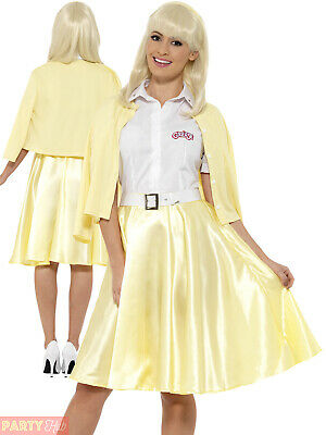 Ladies Grease Sandy Costume Adults 1950s Fancy Dress - Sandy Grease Outfit
