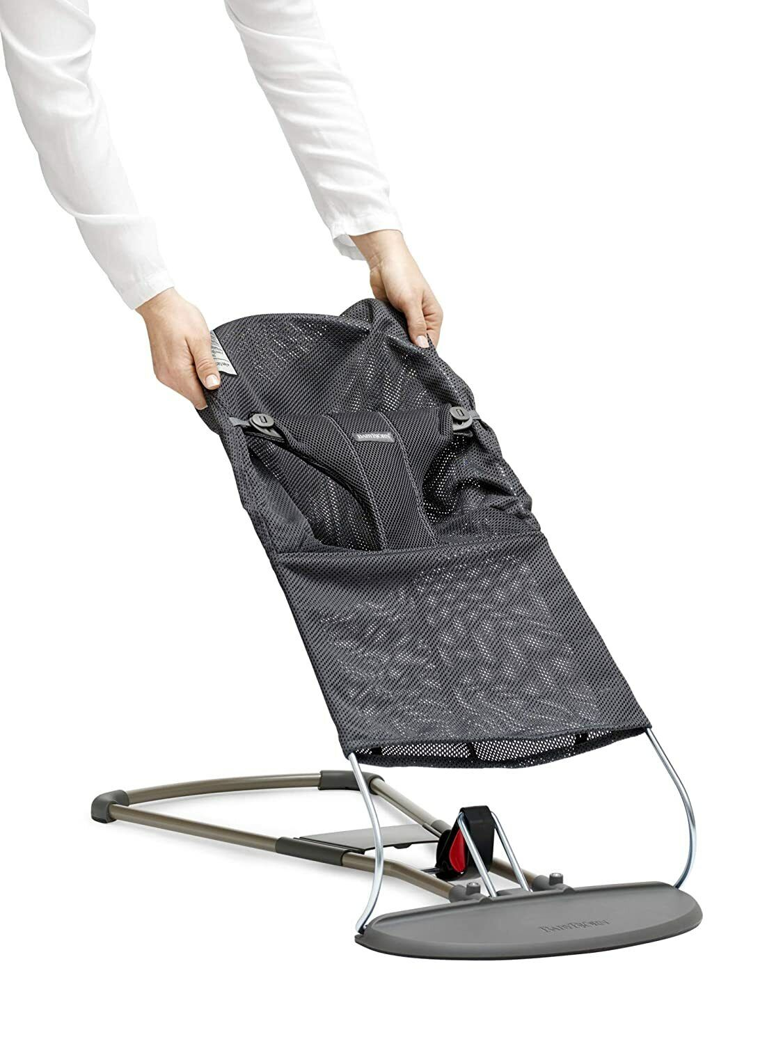 BabyBjörn Fabric Seat for Bouncer - Anthracite, Mesh, Anthr