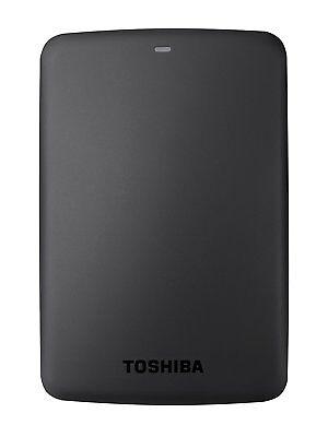 Toshiba HDTB330EK3CB Canvio Basics Tragbare Externe Festplatte USB 3.0, 3TB schw