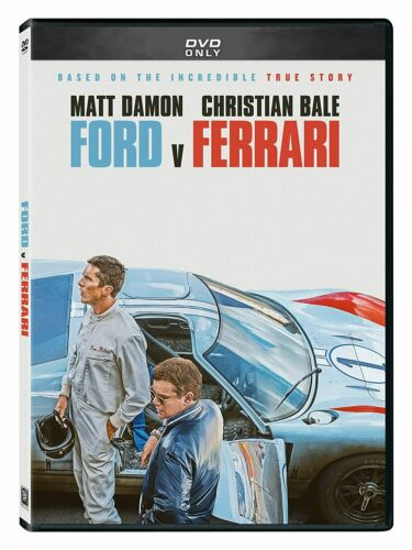 Ford Vs Ferrari (DVD, 2020) BRAND NEW - FREE SHIPPING!!!