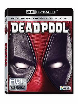 Deadpool ( 4K Ultra HD + Blu-ray + DIGITAL) NEW + FREE  SHIPPING