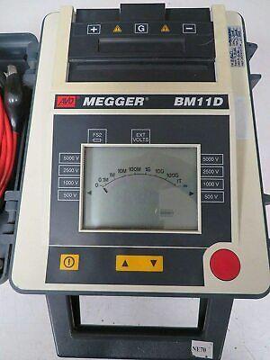 Avo Megger Bm11d 5kv Resistance Insulation Tester