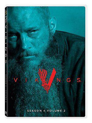 Vikings: Season 4 Volume 2 (DVD, 2017,3-Disc Set)