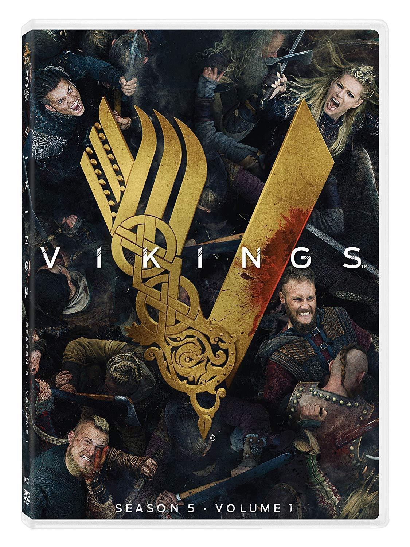 Vikings: Season 5 Volume. 1 (DVD, 2018, 3-Disc Set) NEW Vol