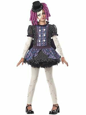 California Costumes Broken Doll Child Costume, Girls Size Large Plus - Girls Broken Doll Costume