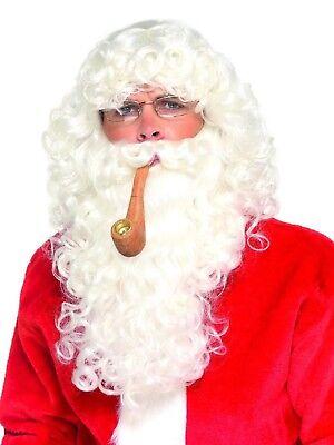 The Christmas Workshop Deluxe Santa Suit Father Christmas Suit Fancy Dress