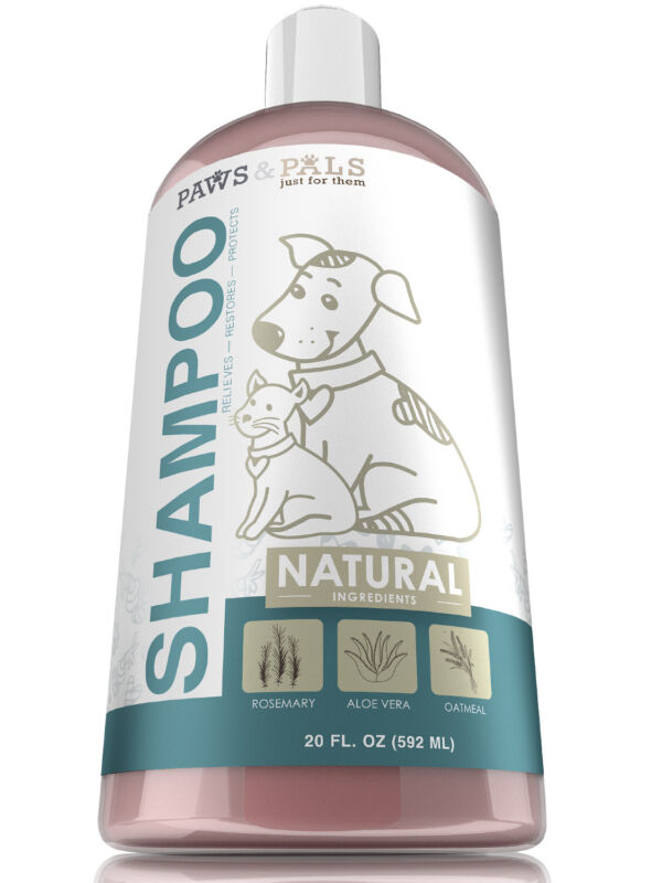 Natural Oatmeal Dog-Shampoo & Conditioner - 20oz Medicated Clinical Vet Formula