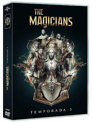 The Magicians TEMPORADA 3 (TERCERA) EN DVD CASTELLANO EDICION ESPAÑA NUEVA