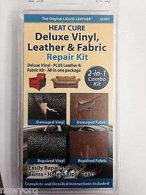 Liquid Leather Pro Professionals make fast Leather and Vinyl Repair Kit
