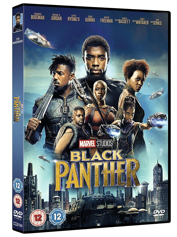 BLACK PANTHER DVD VON MARVEL STUDIOS DEUTSCH