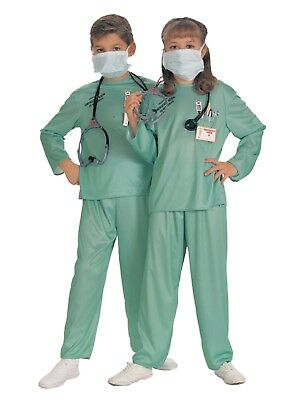 Boys & Girls ER Doctor Halloween Costume - Doctor Halloween Costume Girl