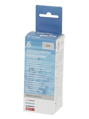 Bosch Decalcifying Tablets for Coffee Machines, 6 Tablets