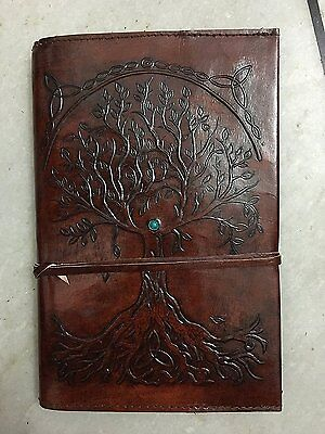 Refillable Leather Journal Writing Notebook Antique Handmade Cover Bound NEW