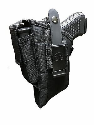 Gun Holster Hip for S&W M&P 40,9mm with TACTICAL FLASHLIGHT or LASER LIGHT