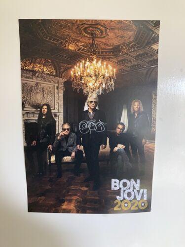 Jon Bon Jovi Signed Poster 2020 BON JOVI HAND SIGNED AUTOGRAPH