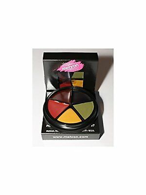 Mehron Bruise Makeup Wheel Halloween, Stage, Costume (1 oz) - Apply Halloween Makeup