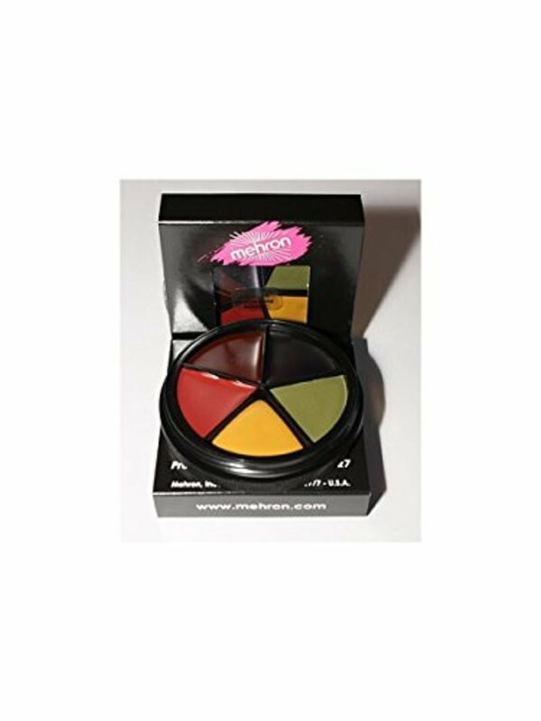 Mehron Bruise Makeup Wheel Halloween, Stage, Costume (1 oz)