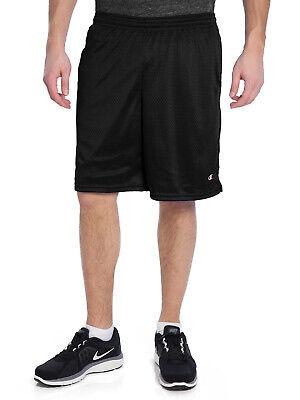 Champion Men's Long Mesh Shorts With Pockets