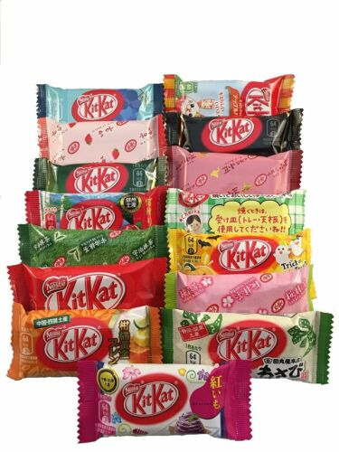 16 Pieces All Japanese Kit Kat KitKat Limited Flavors US SELLER Free Shipping